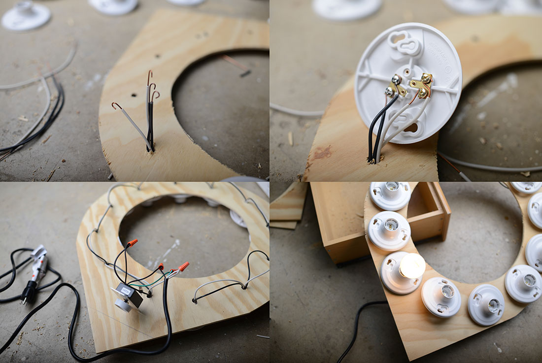 500px Blog Diy How To Build Your Own Ring Light Switch Wiring Diagram Youll Want Take Time And Make Sure You Dont Mix Up The Polarity 2 White Wires Go Two Gold Contacts On