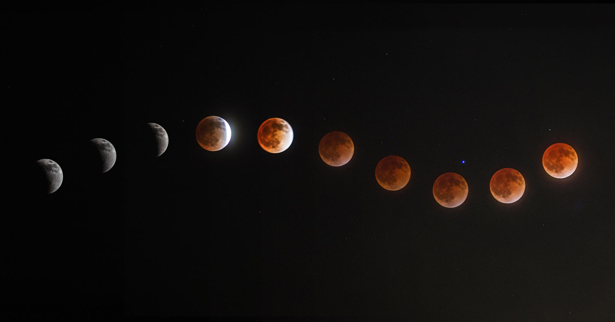 37 Magical Blood Moon Eclipse Photos