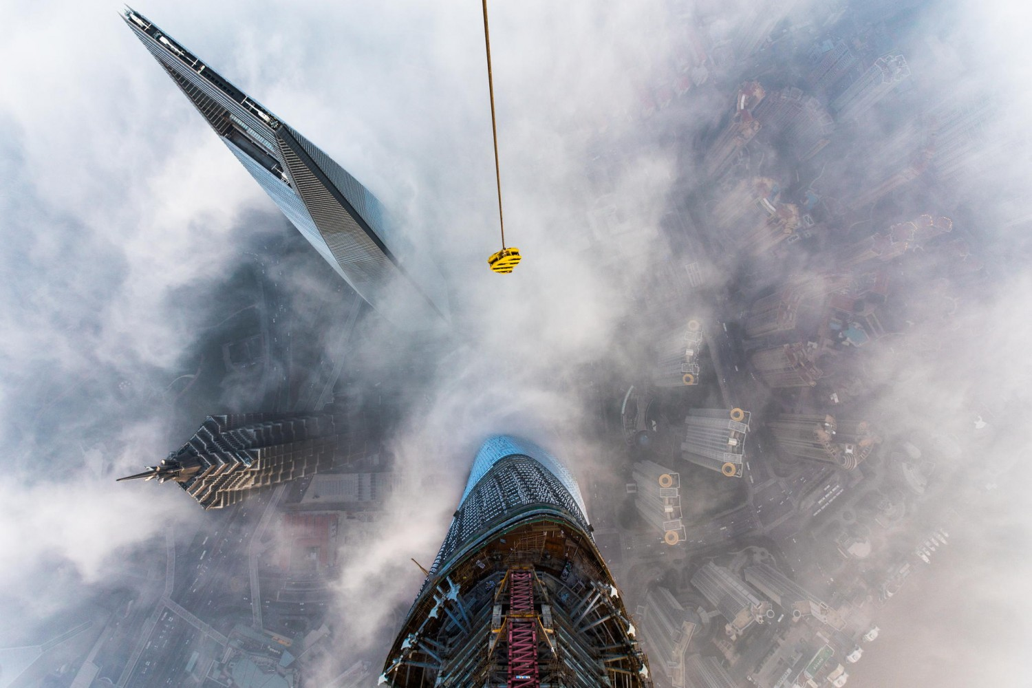 The Story Behind that Insane Shanghai Tower Climb