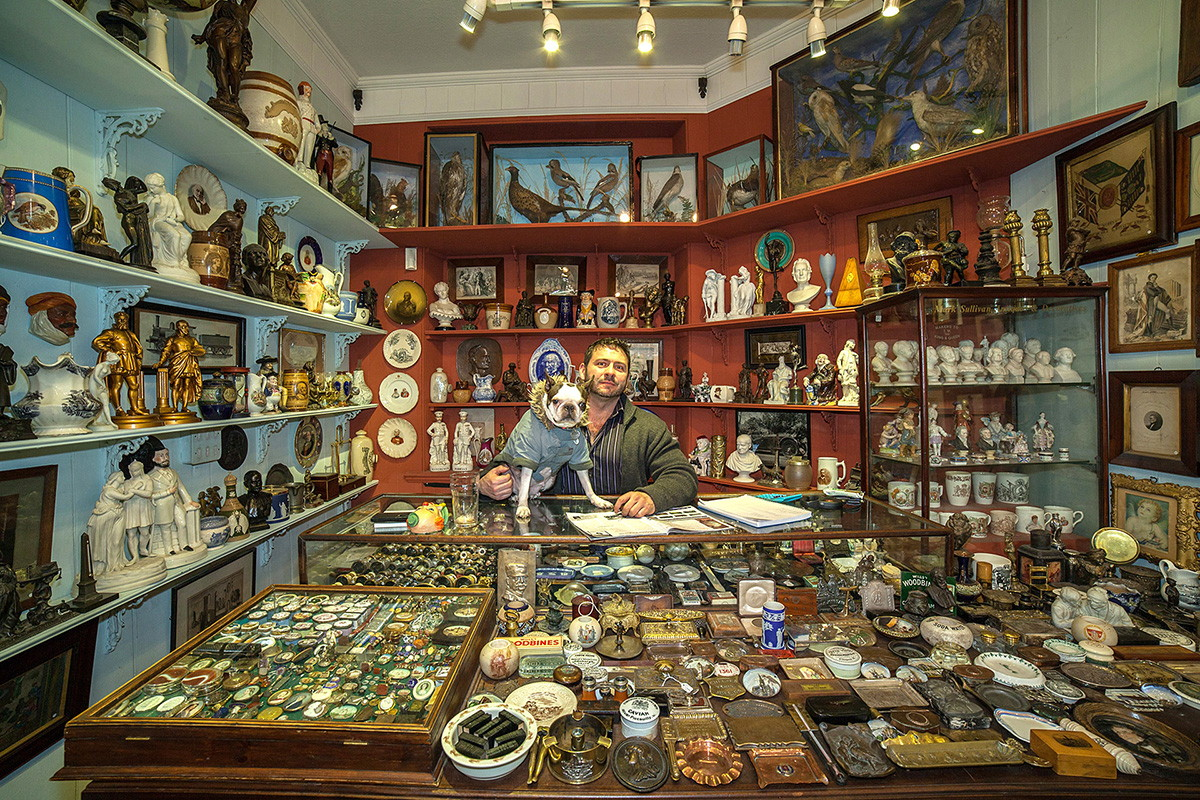 New Photo Series Documents Shopkeepers In Their