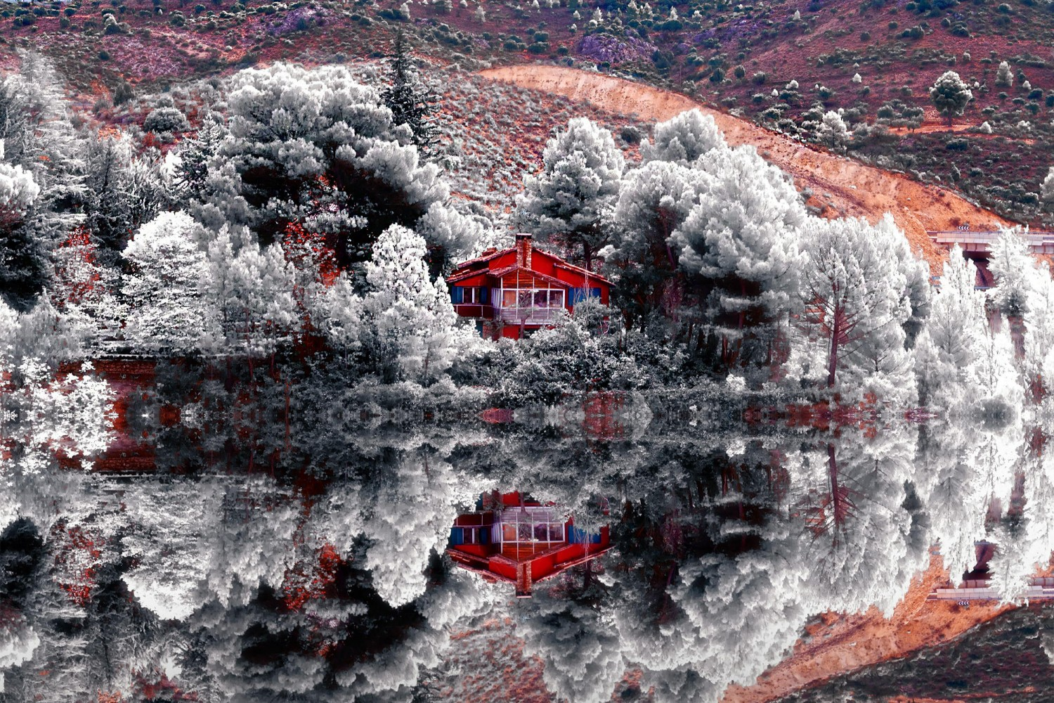 Tutorial: How To Transform Your Landscape Photos Into Surreal Infrared Images