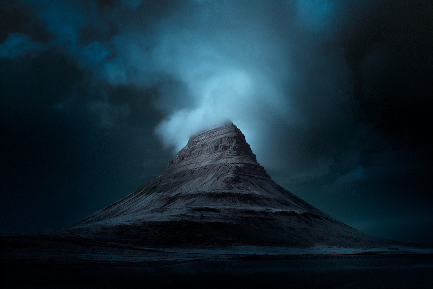 These Moody Photos Capture An Unearthly Iceland