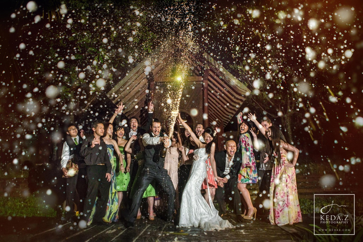 55 Creative Wedding Entourage Photo Ideas