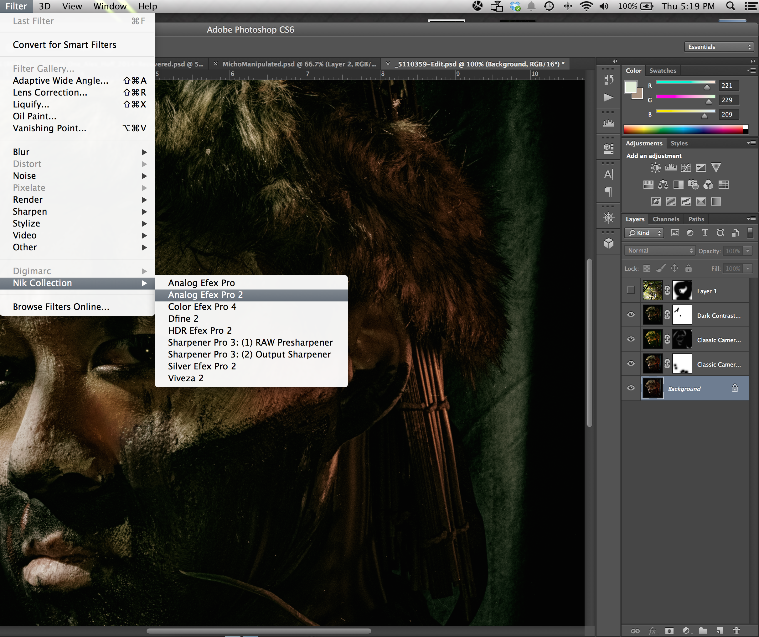 Open your image in Analog Efex Pro, as a plugin from within Photoshop