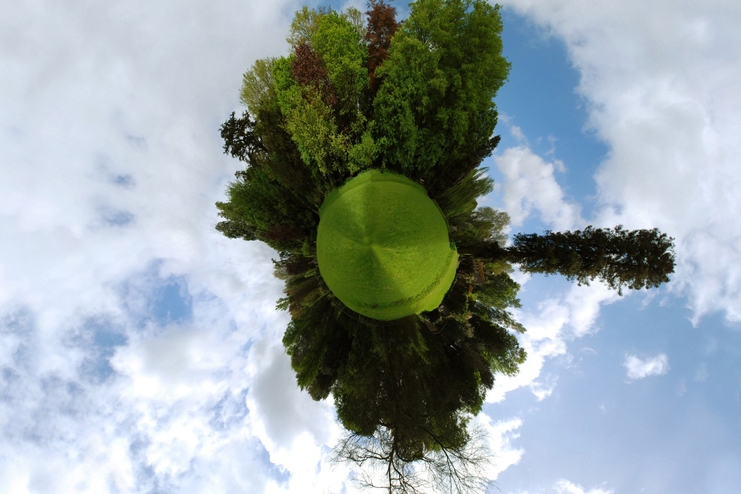 How To Turn Your Panorama Photos Into 360-Degree Little Planet Images