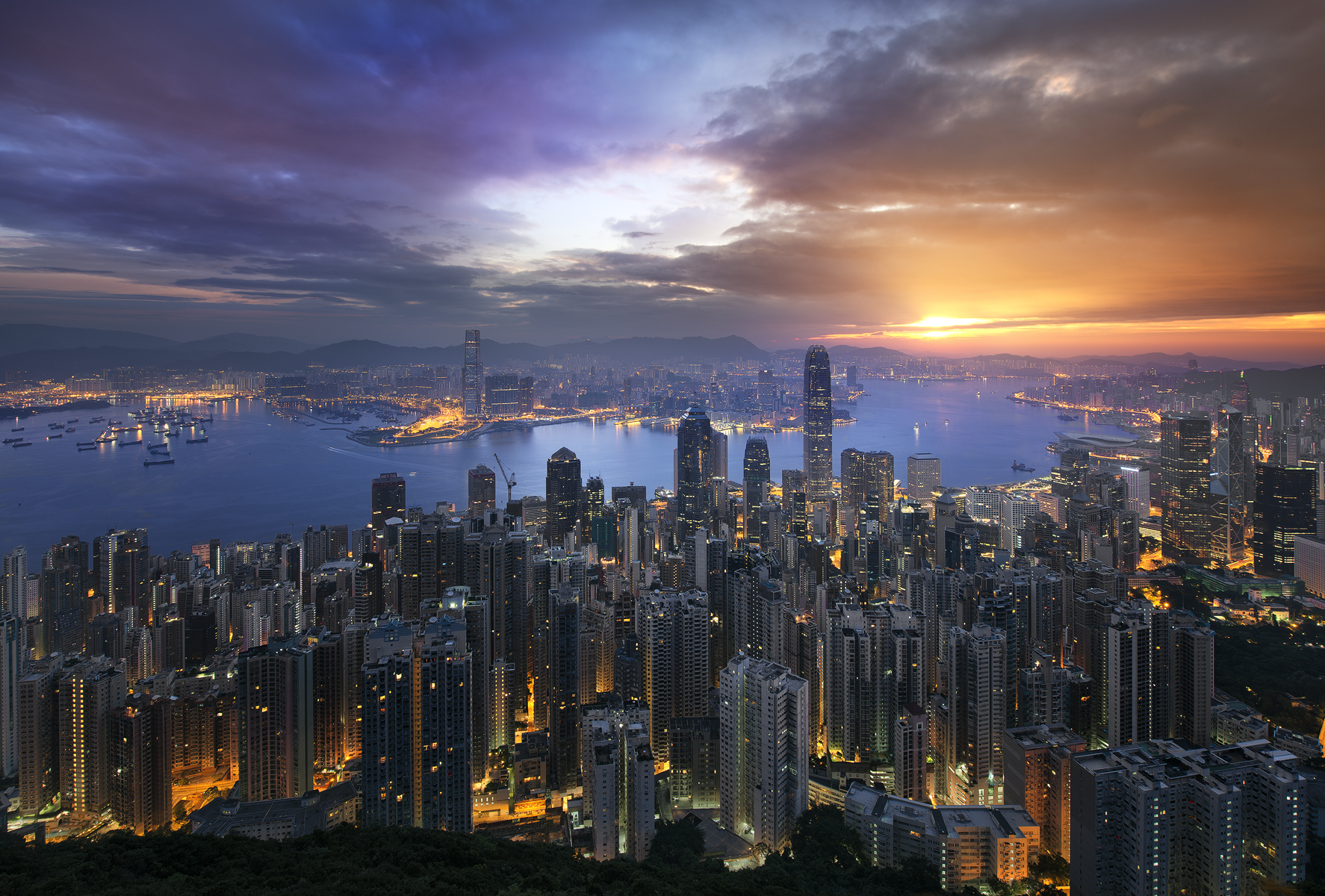 How To Create Stunning Golden Hour and Night Cityscapes