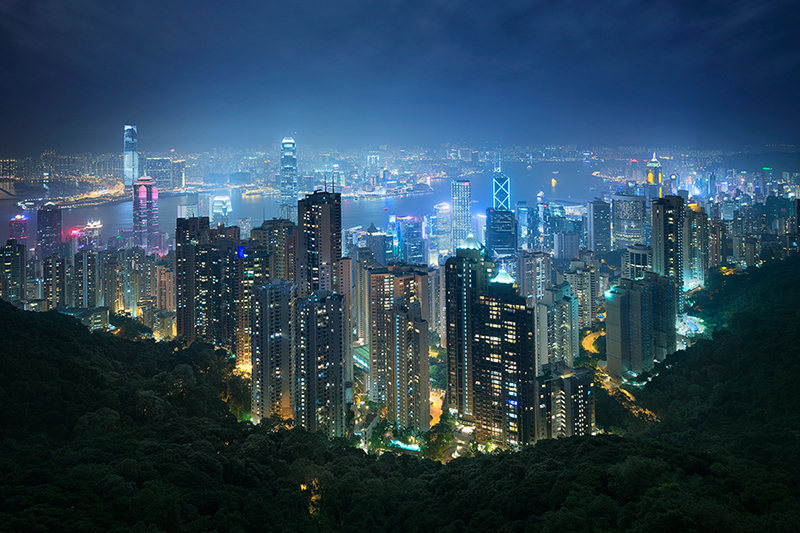 cityscape - hong-kong-the-peak-view