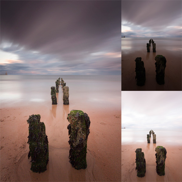 Post processing - seascape-photo