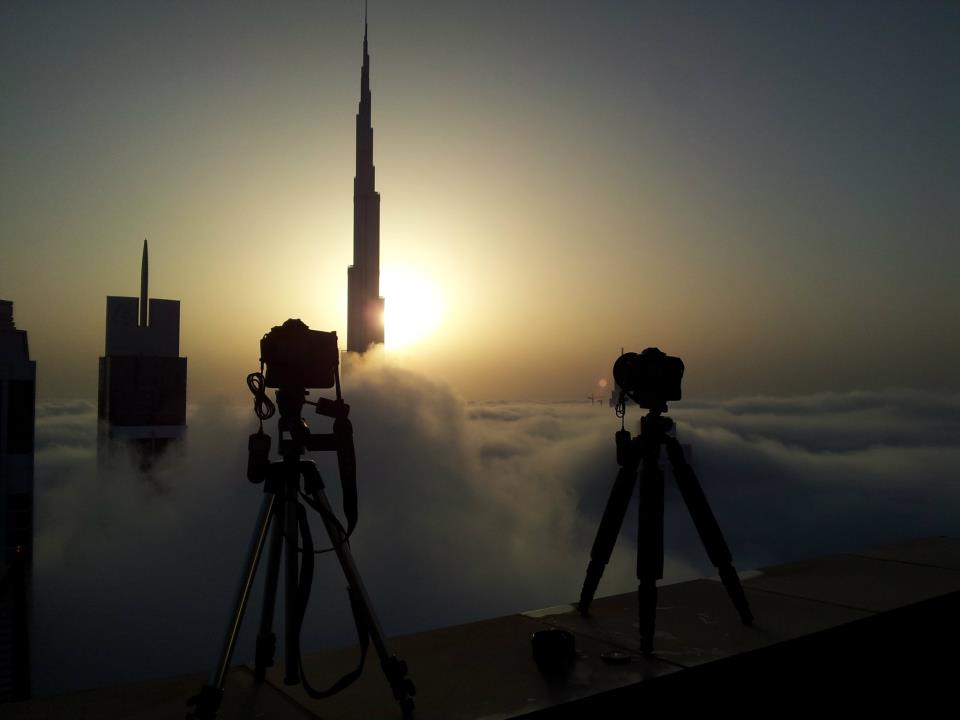 Shooting Burj Khalifa