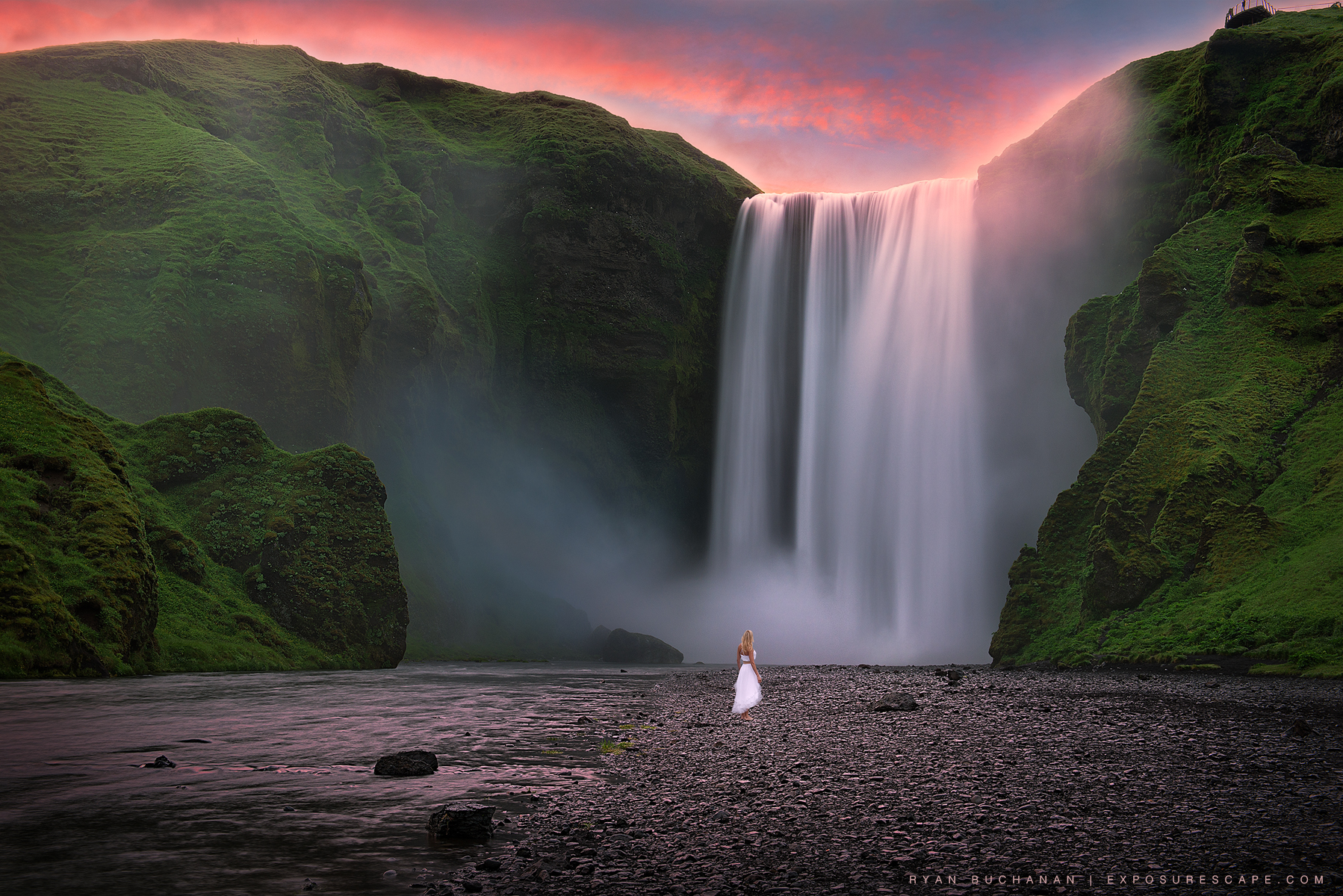How A Dreamy Photo Shoot At Skogafoss Led To A Romantic Wedding Proposal