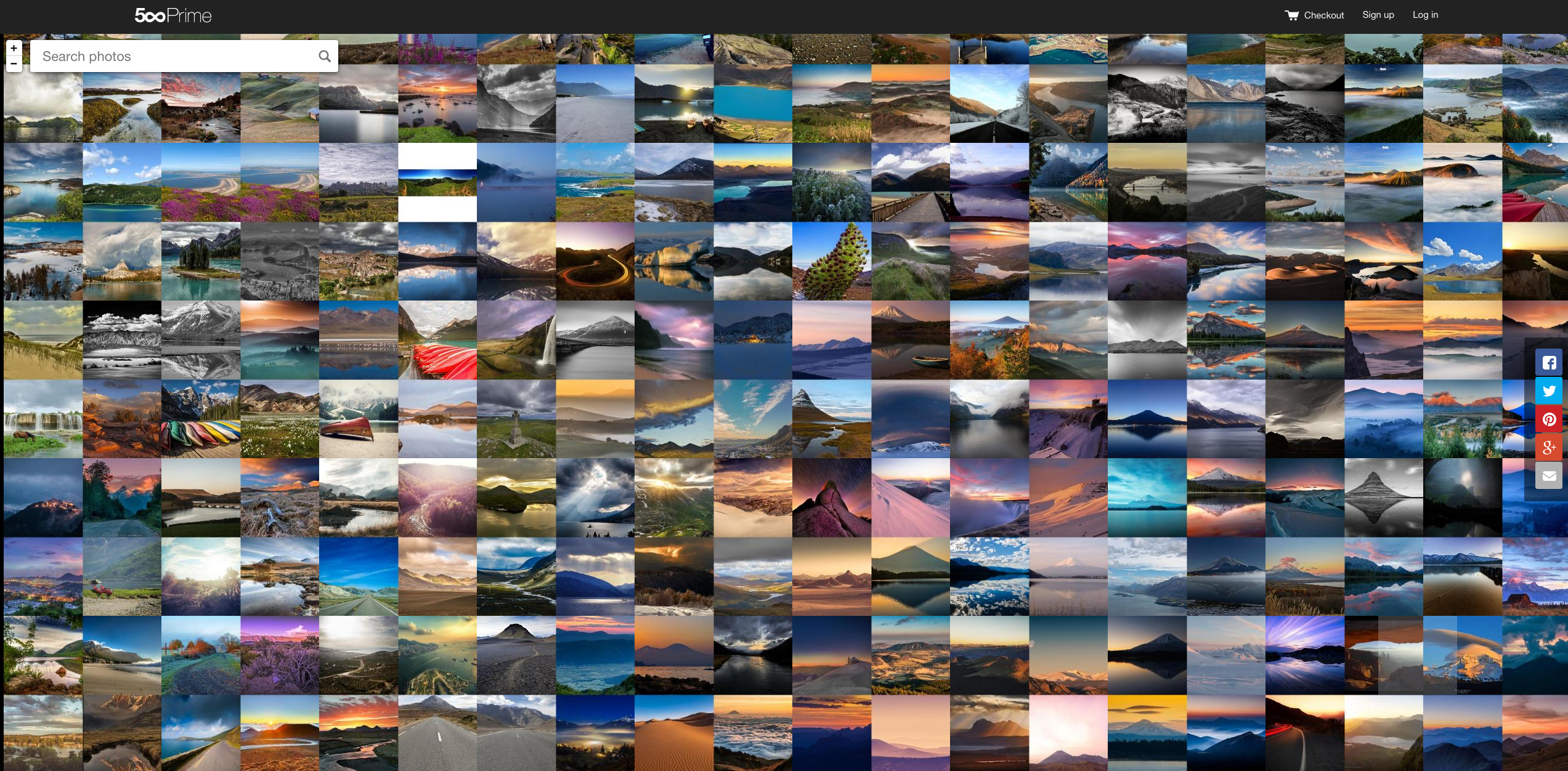 Searching the world's top photos made easy