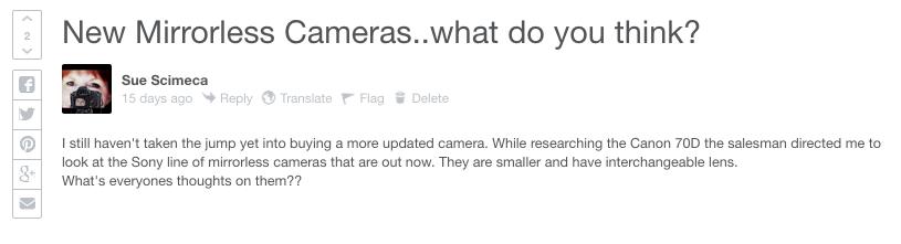 Ask Photographers