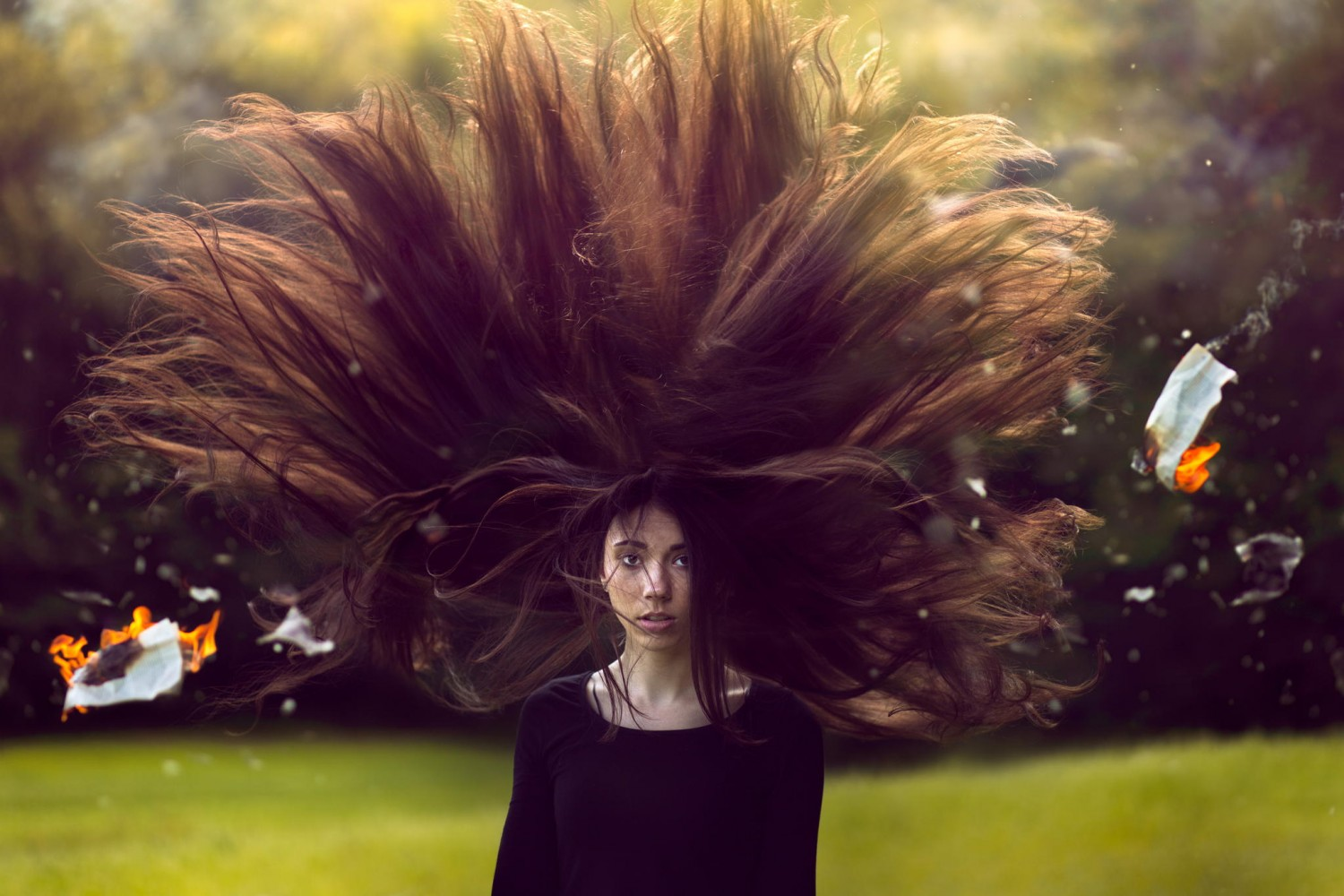 How To Create Big, Dramatic Hair In Photoshop