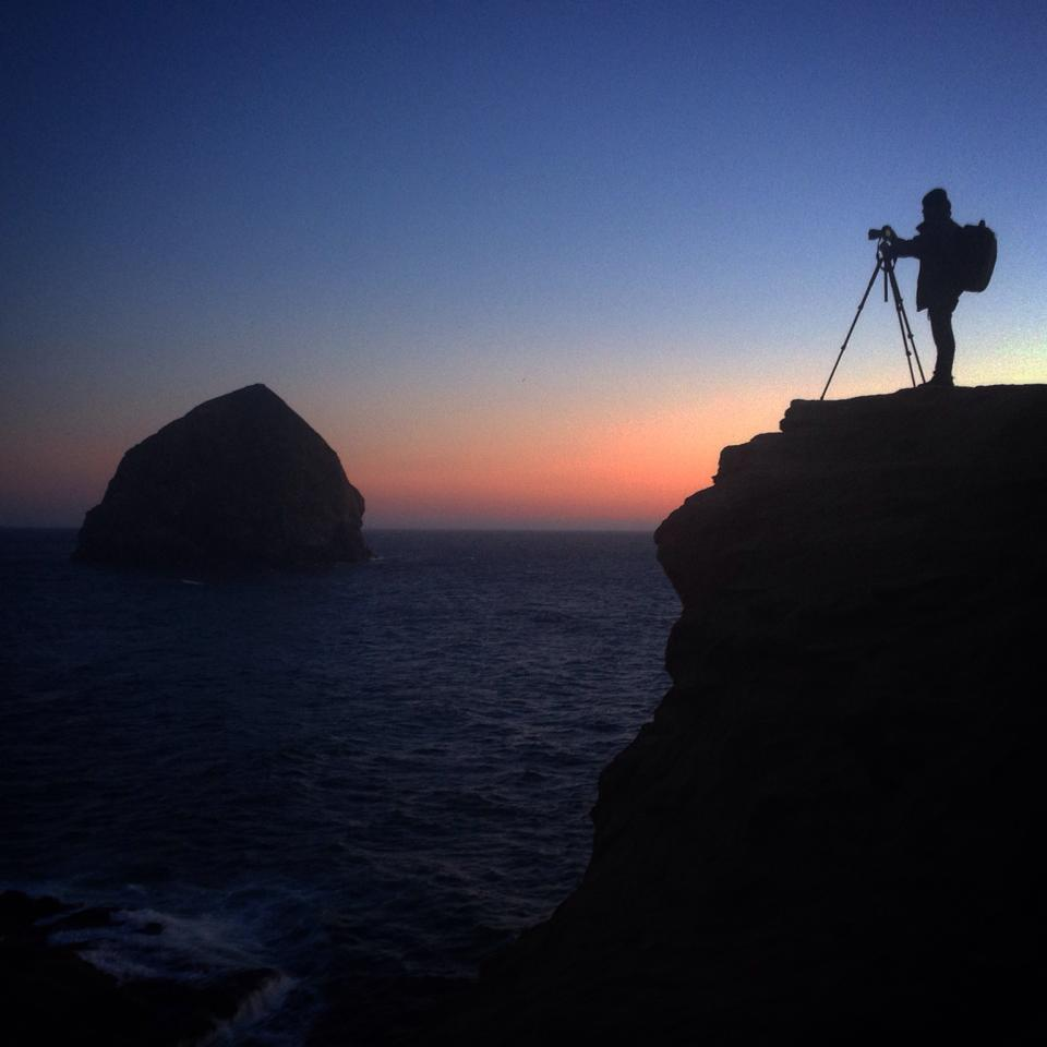 Michael Shainblum at work
