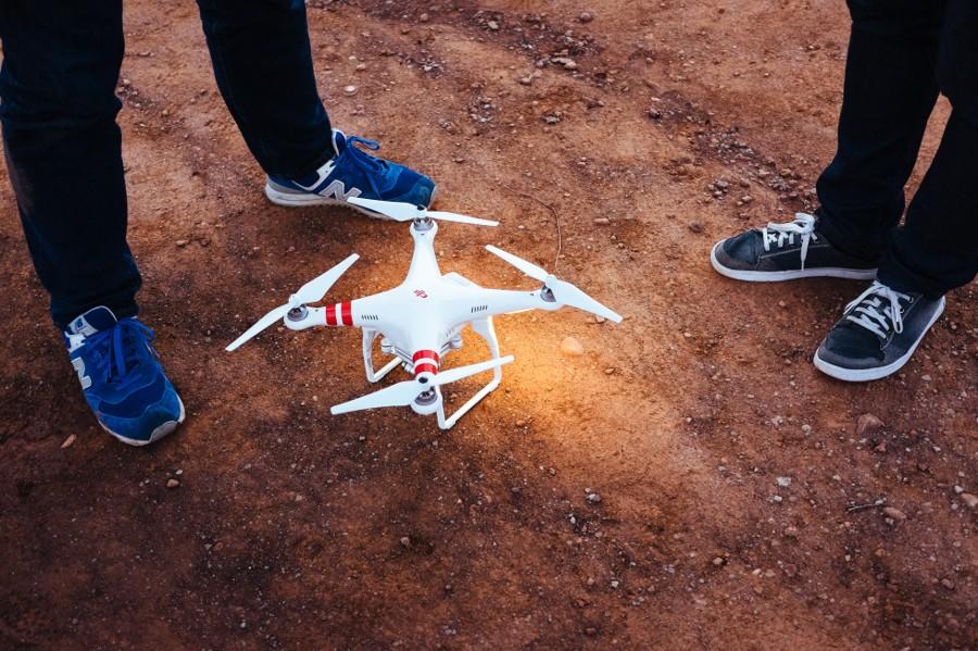 Drone prep