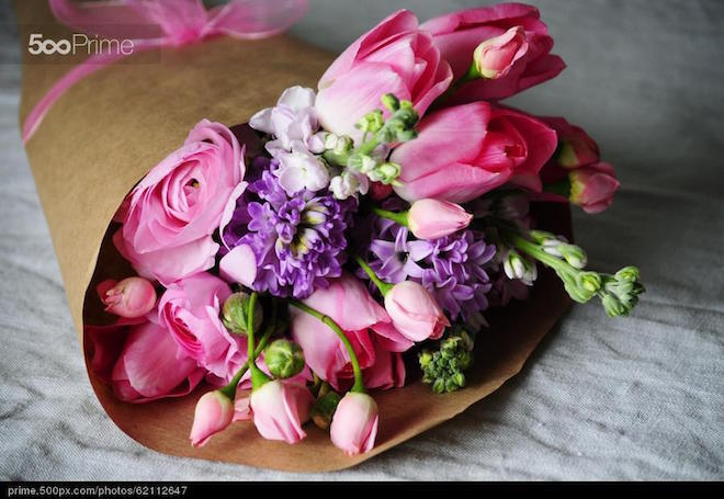 stock-photo-ranunculus-flower-arrangement-garden-roses-tulips-hyacinth-matthiola-62112647
