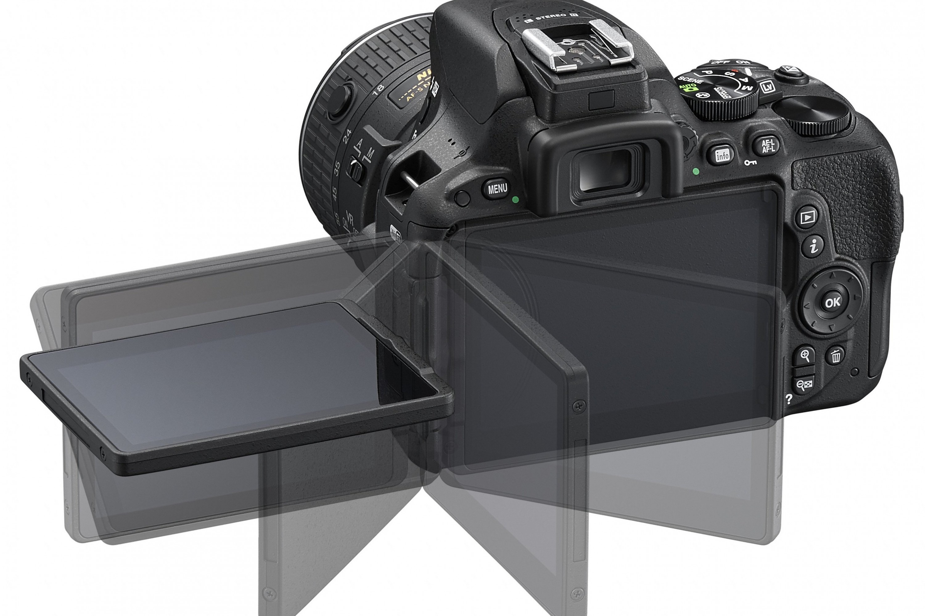 News Roundup: Nikon's First Touchscreen DSLR, Super High-Res Andromeda, and More
