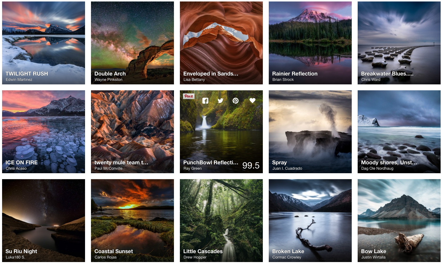 Will the Real Landscape Photography Please Stand Up?