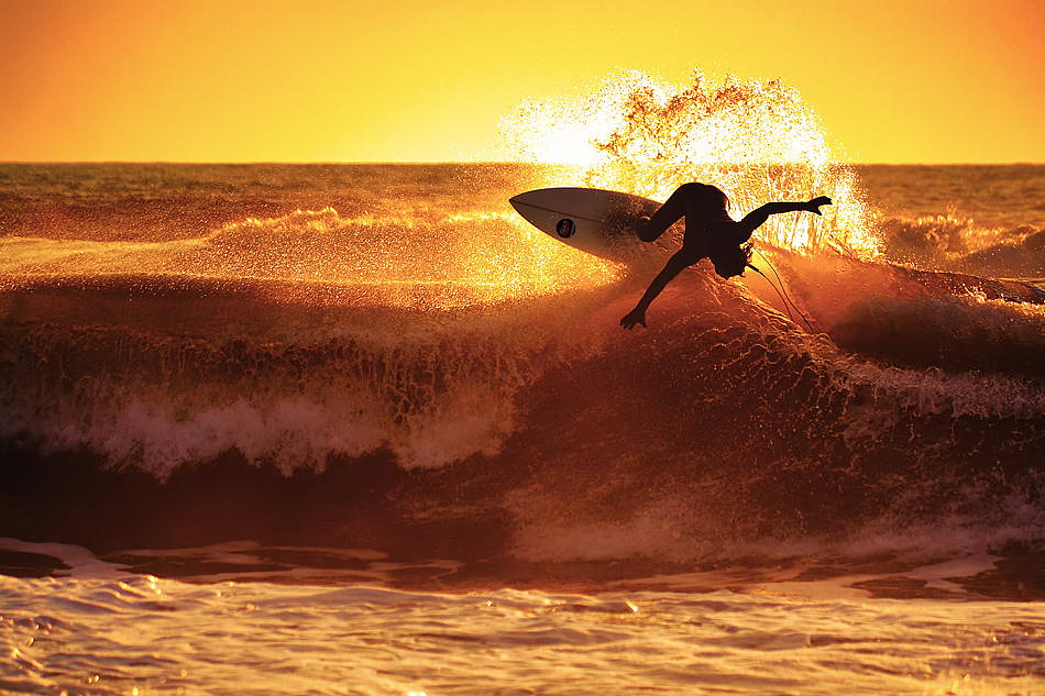 How I Got the Shot: Capturing an Epic Sunset Surfing Photo