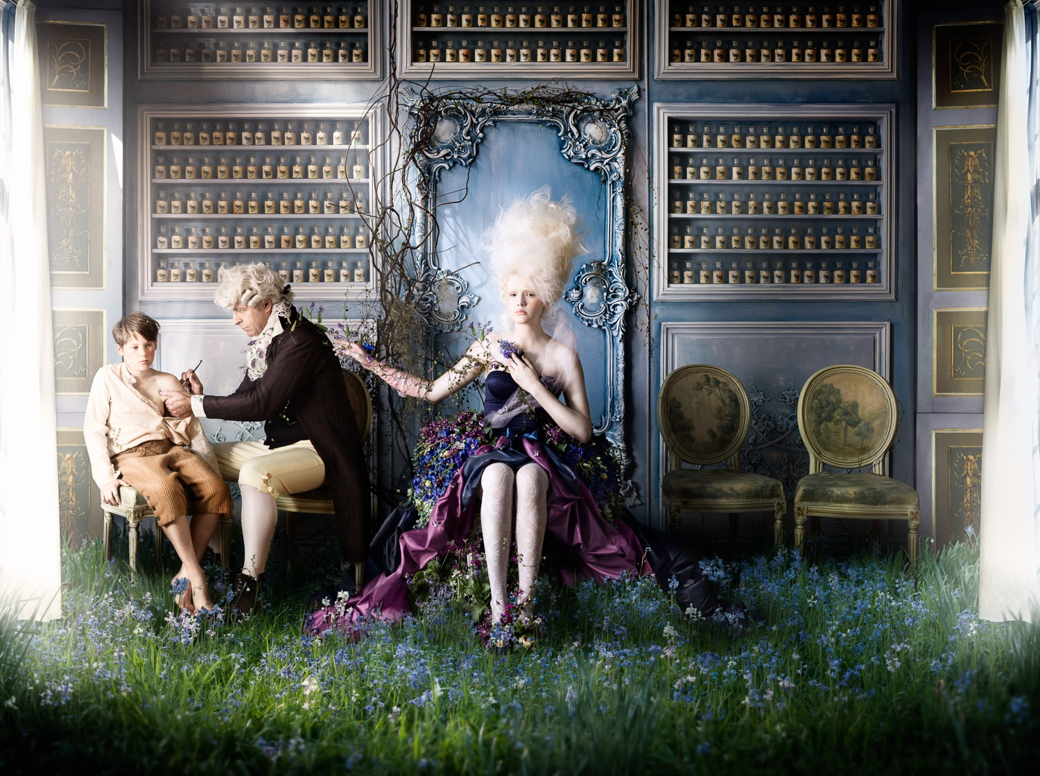 Alexia Sinclair Sends a Powerful Pro-Vaccination Message with Hauntingly Beautiful Photo