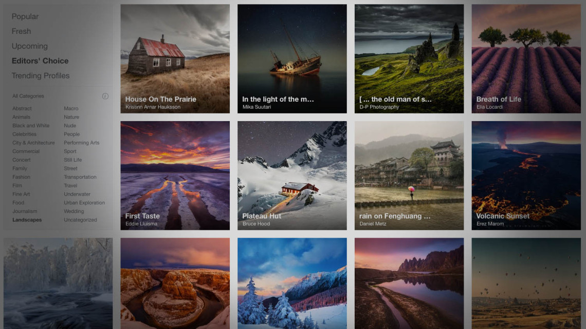 What I've Learned in My First Week as a Guest Editor at 500px
