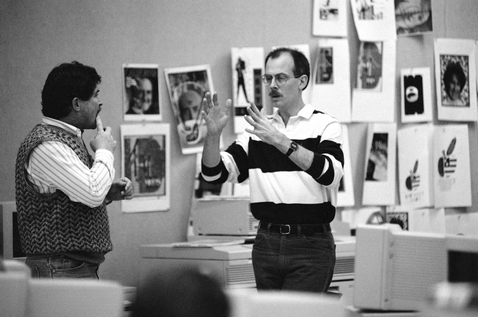 Russell Brown, Adobe Creative Director, March 1991