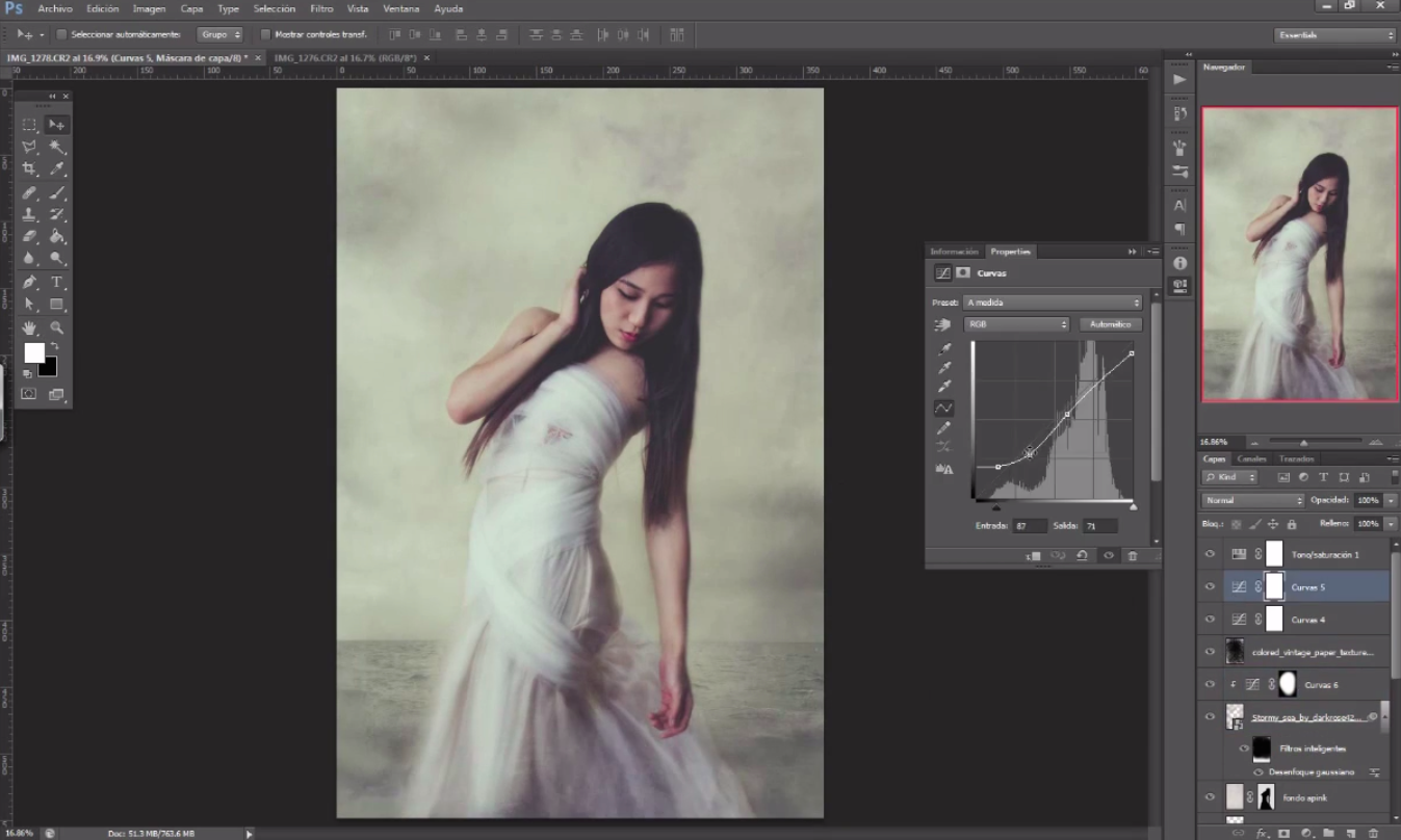 Speed Edit: See How a Backyard Shot is Transformed Into a Dreamy Portrait