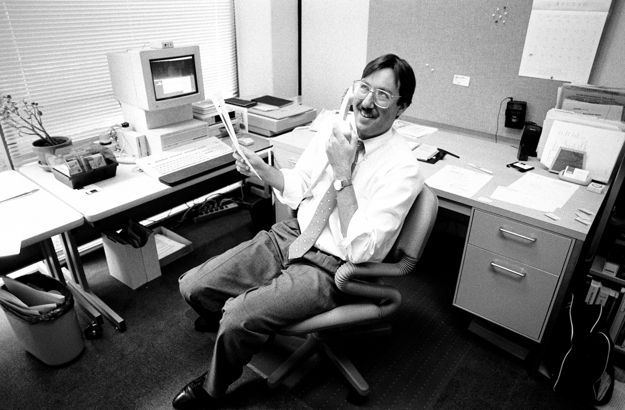 Steven Guttman, Adobe's product marketing manager for Photoshop, August 1991