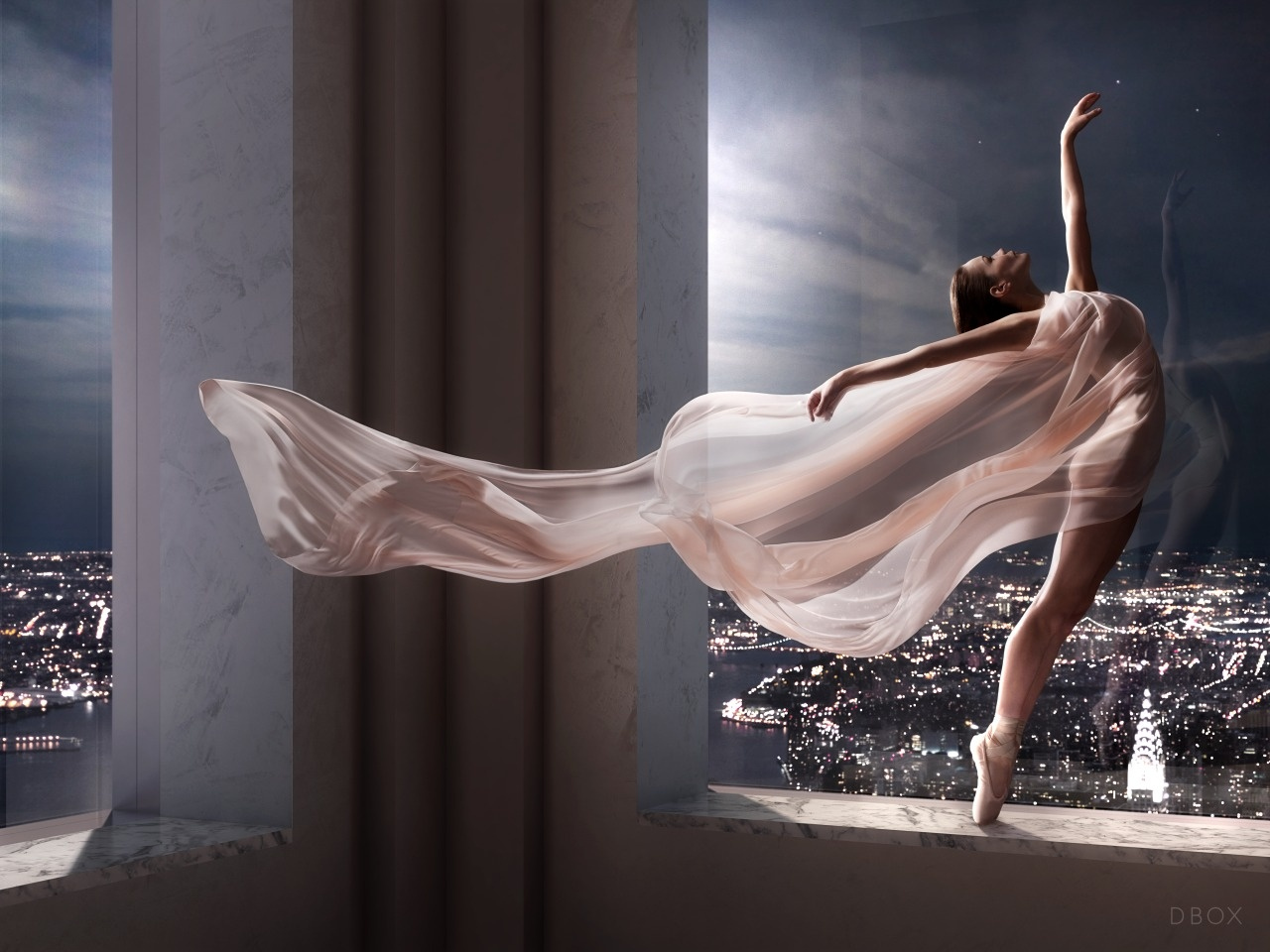 Behind the Incredible Ballerina Photos that Announced NYC's Record-Setting Tower to the World
