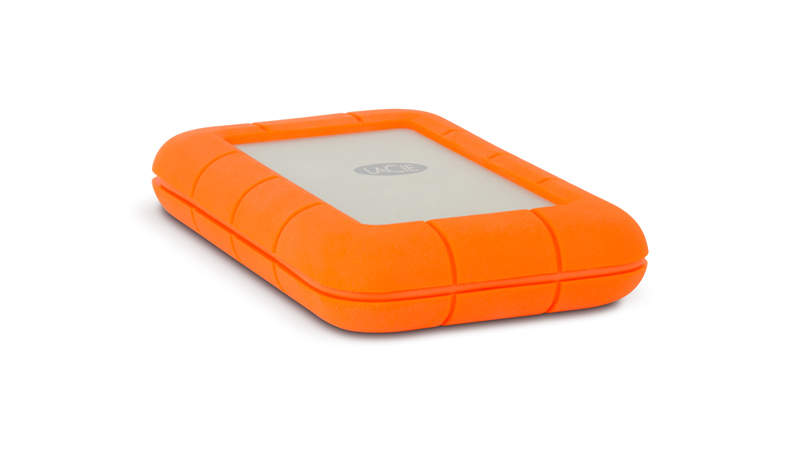 The LaCie Rugged comes in the official colours of the Dutch Royal family.