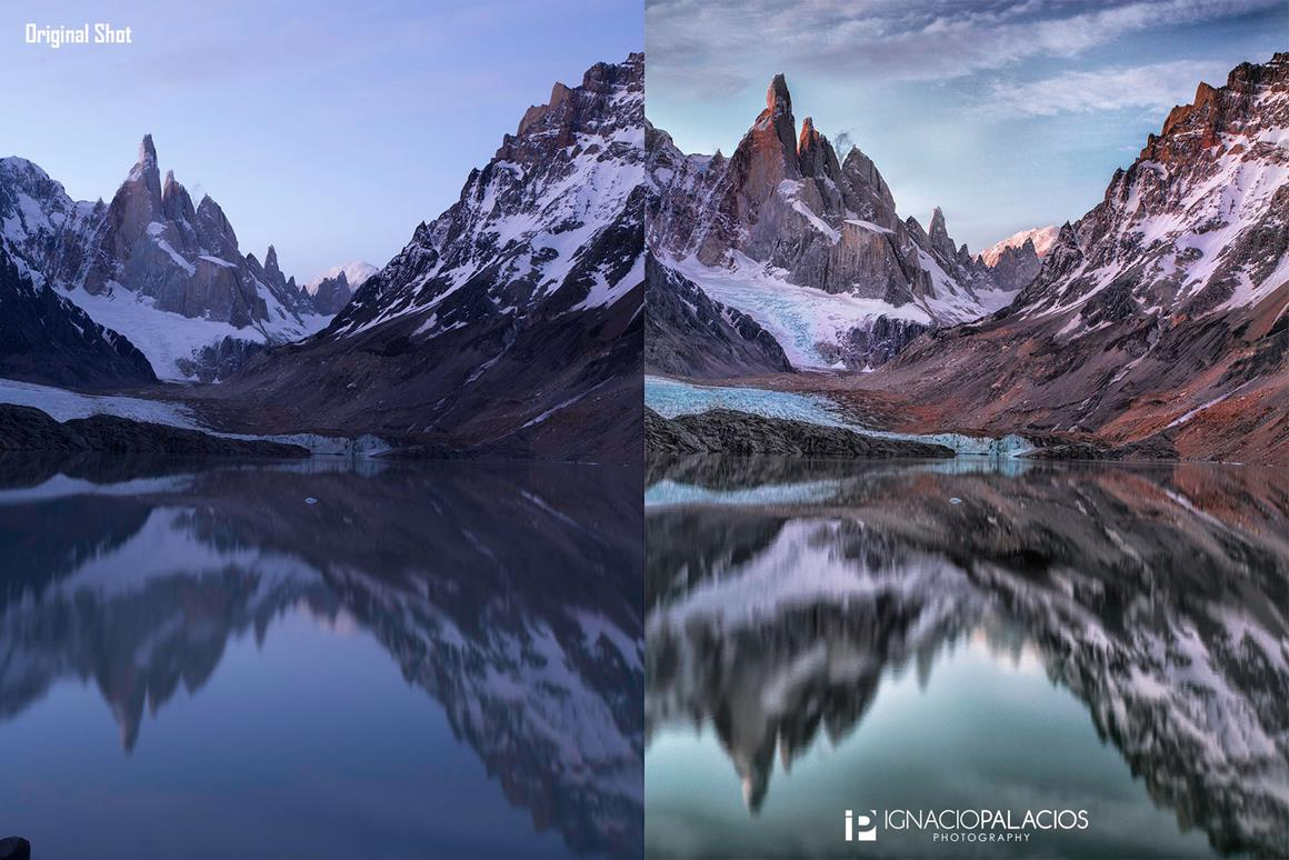 Tutorial: Turning Back Time in Photoshop to Capture a Sunset at Cerro Torre