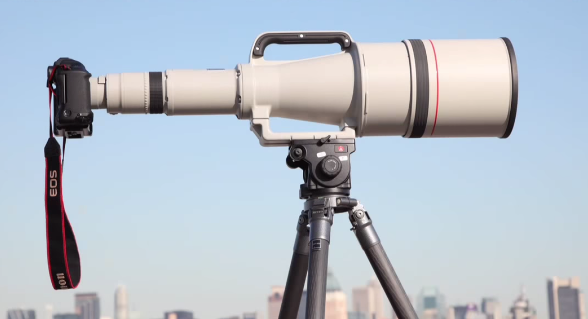 The Longest Canon Prime Lens EVER MADE is Up for Sale on B&H for $180K... Used
