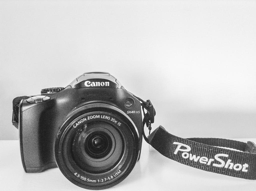 canon POwershot SX40HS