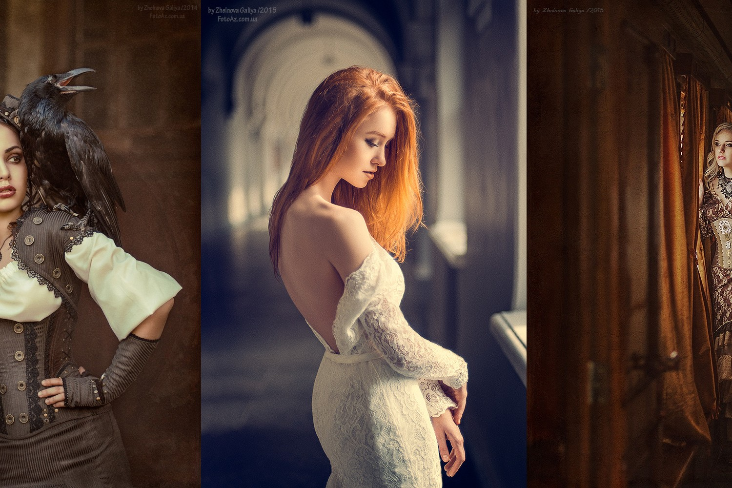 The Sexy and Surreal Portraits of Galiya Zhelnova (NSFW)