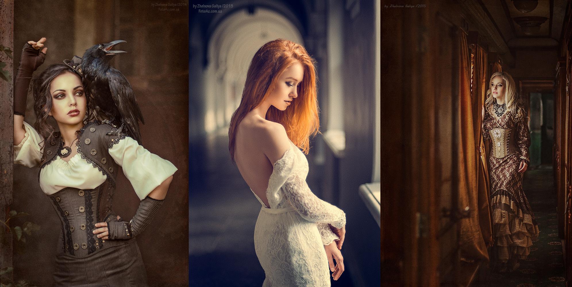 The Sexy and Surreal Portraits of Galiya Zhelnova (NSFW)