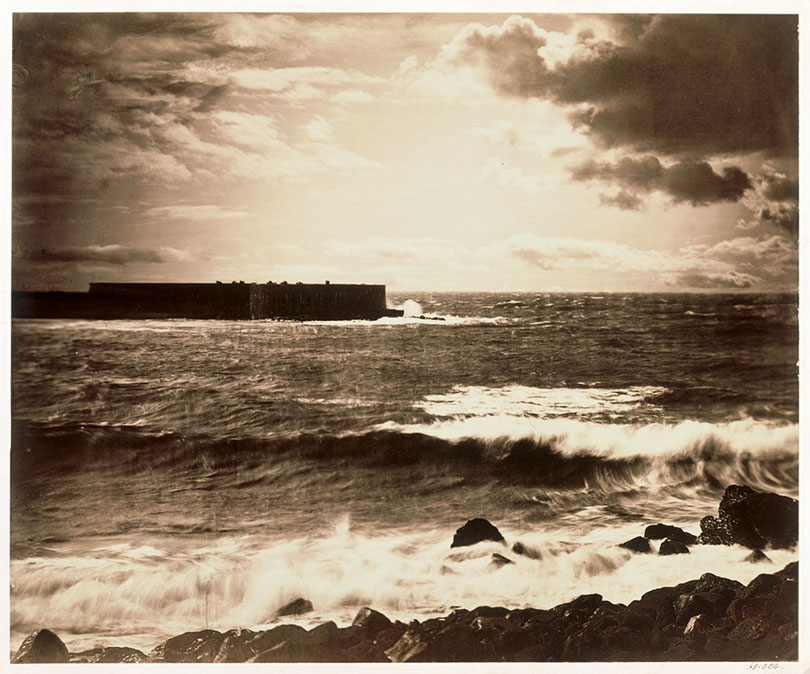 Gustave Le Gray, The Great Wave, Sète