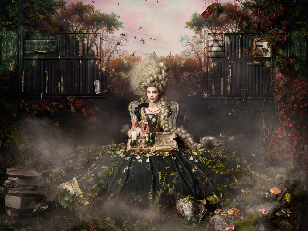 A Story is Literally Bursting Off the Page in This Intricate Fairy Tale Photograph