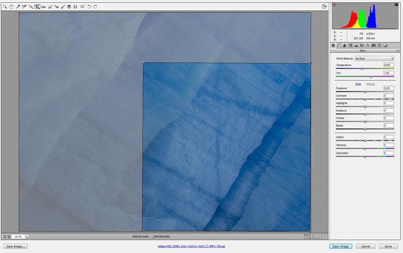 Ice detail, Grey Glacier, Patagonia – Original Capture