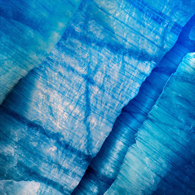 Ice detail, Grey Glacier, Patagonia