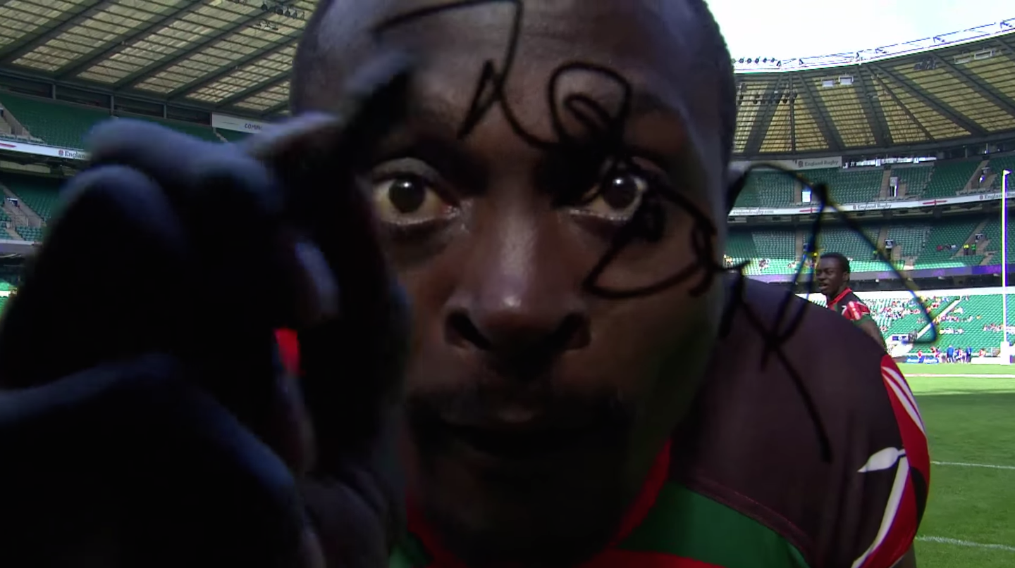 Did This Rugby Star Damage a $96,000 Lens When He Signed it With Permanent Marker?