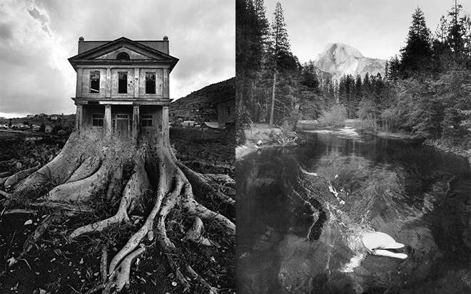 Jerry Uelsmann photographs