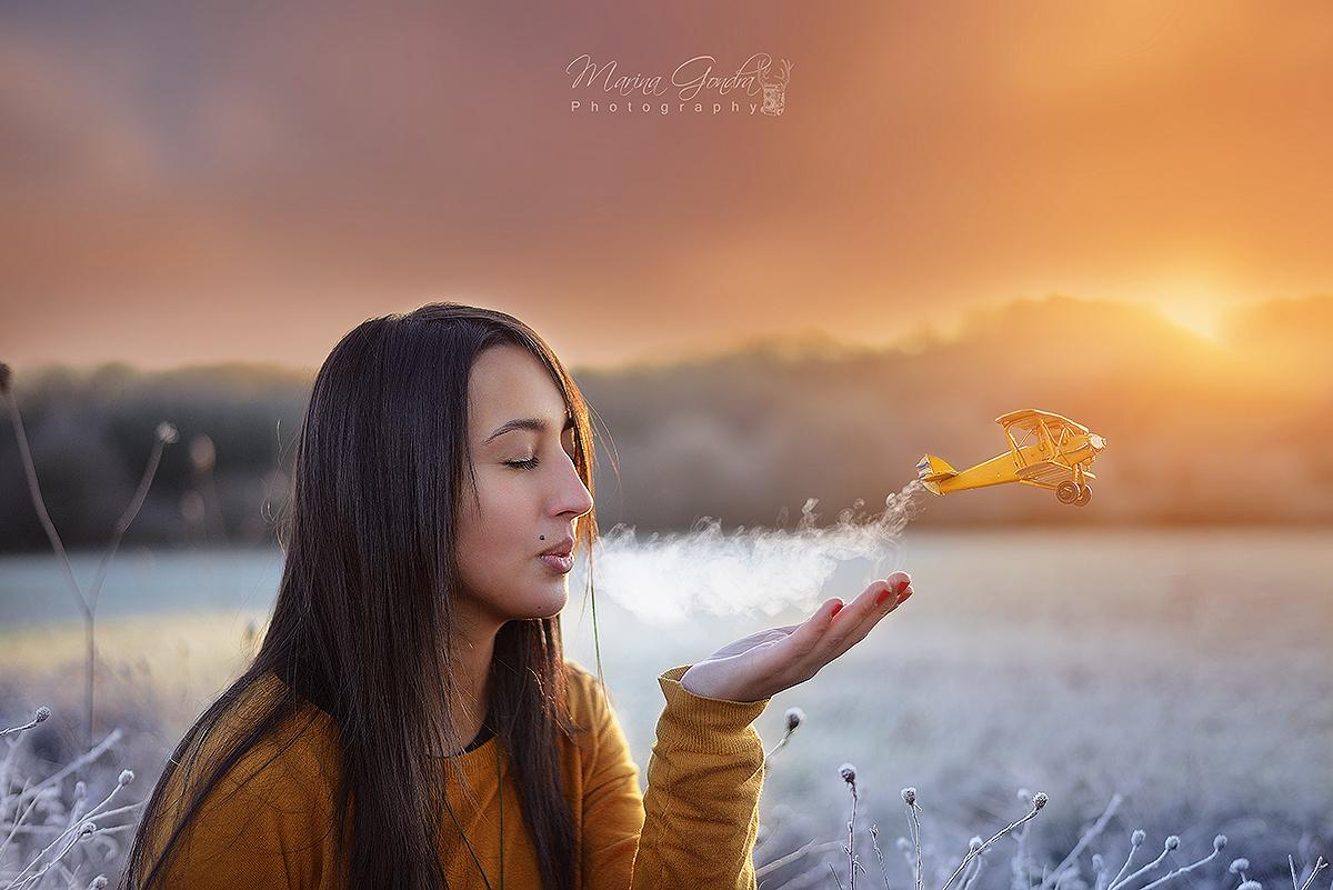 Marina Gondra's Magical Photo Stories Dare You to Daydream