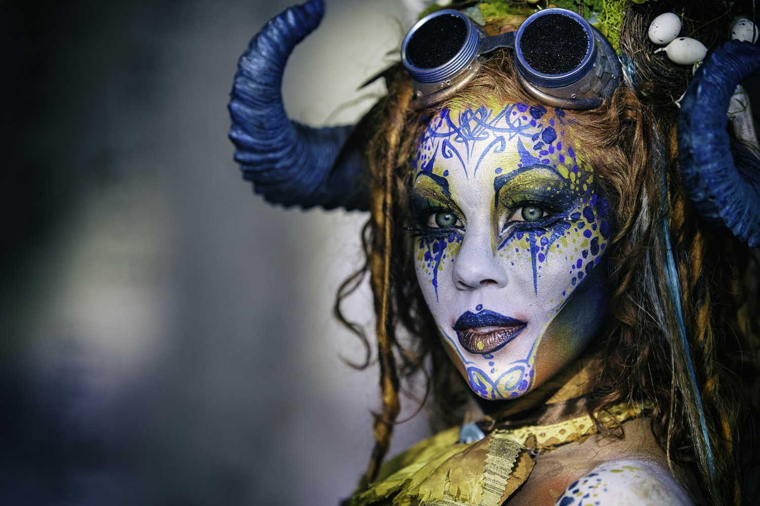 Shooting the Most Insane Body Painting You've Ever Seen with Circus North & 500px
