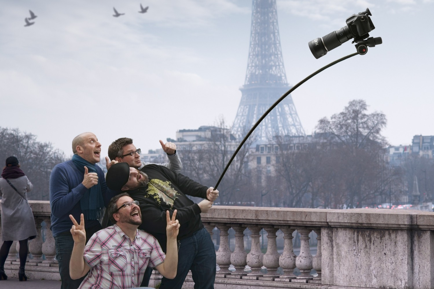 Humor: It's Not a Selfie Stick, It's a Monopod!!!