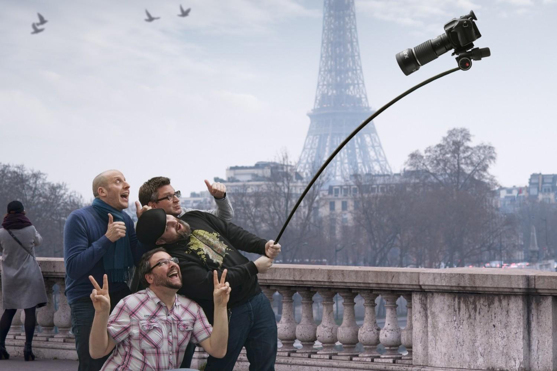 Humor: It's Not a Selfie Stick, It's a Monopod!!!