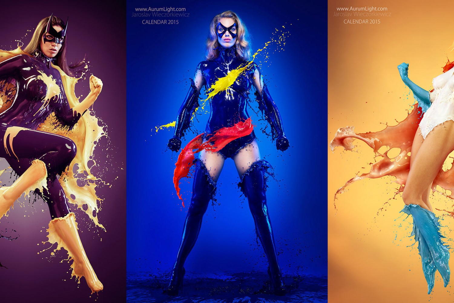 Photos of 'Splash Heroes' Who Wear Costumes Made of Milk... and Nothing Else (NSFW)