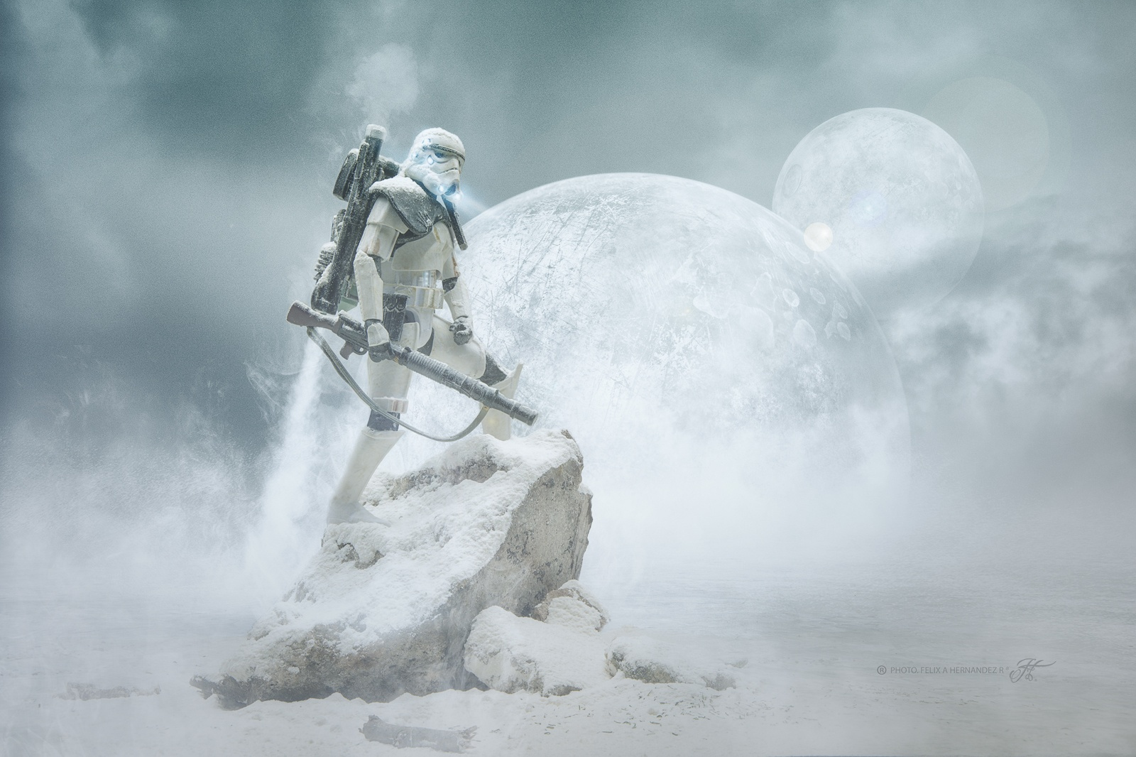 Capturing Epic Star Wars Scenes with Toy Stormtroopers