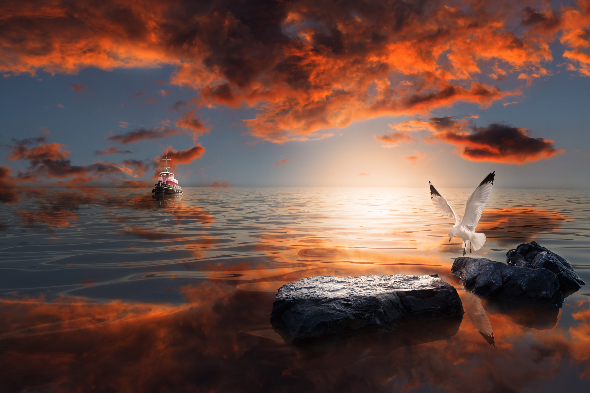 Px Blog The Passionate Photographer Community Tutorial - Photographer combines photoshops his own photos to create surreal landscapes