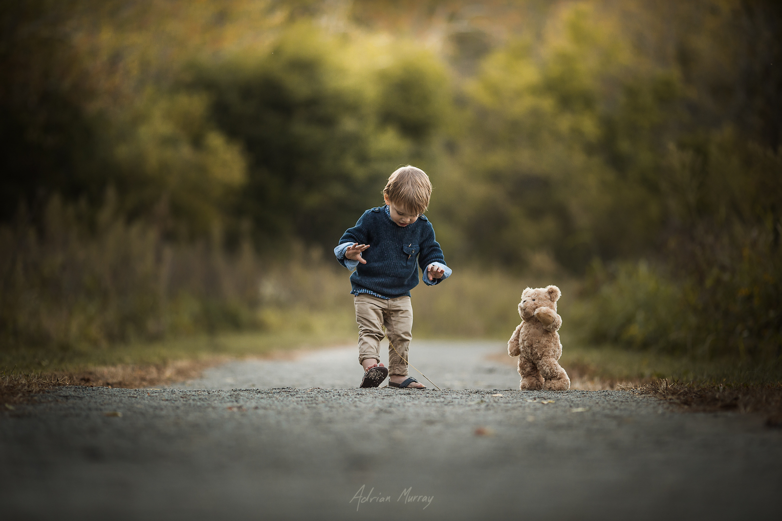 DIY: The Secret Behind Adrian Murray's Posable Teddy Bear