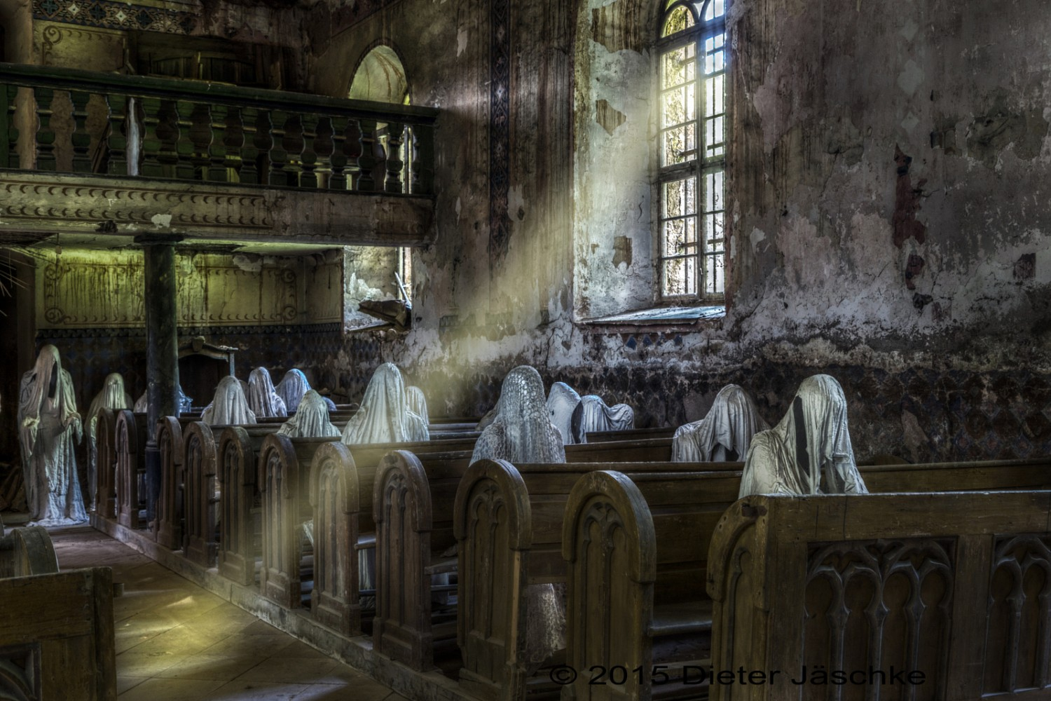 The Haunting Art Installation in an Abandoned Church You Need to Visit